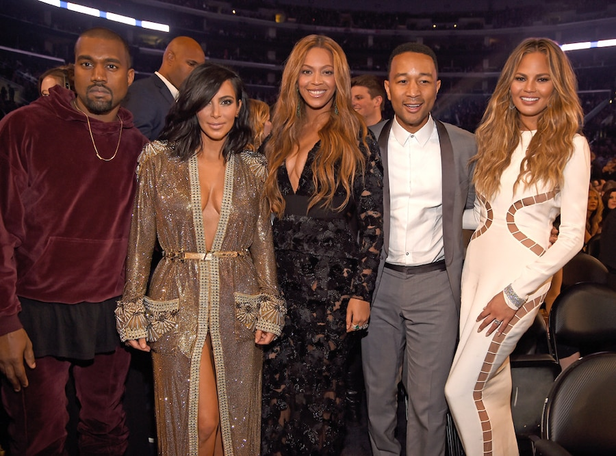 Kanye West, Kim Kardashian West, Beyonce, John Legend, Chrissy Teigen